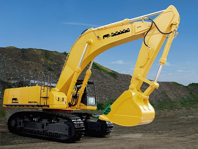 REX700 Excavator