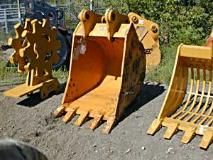 36″ Heavy Duty Excavator Bucket