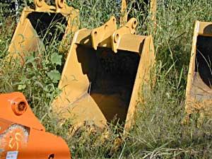36″ Excavator Bucket