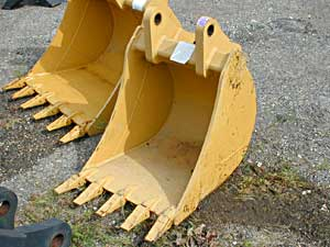 12″, 18″ and 24″ Backhoe Buckets