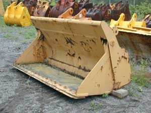 Multipurpose 4-in-1 Loader Bucket