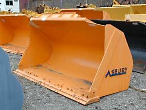 Samsung SL180-2 Asbury Loader Bucket