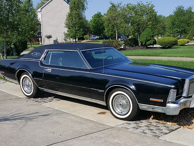 1973 Lincoln Continental Mark 4