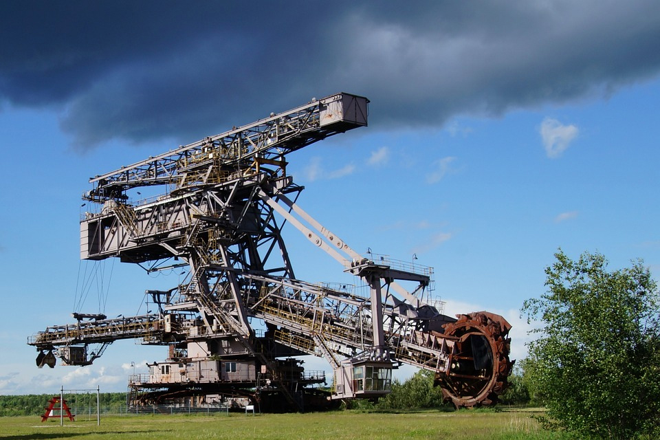 The Bagger 288 Excavator