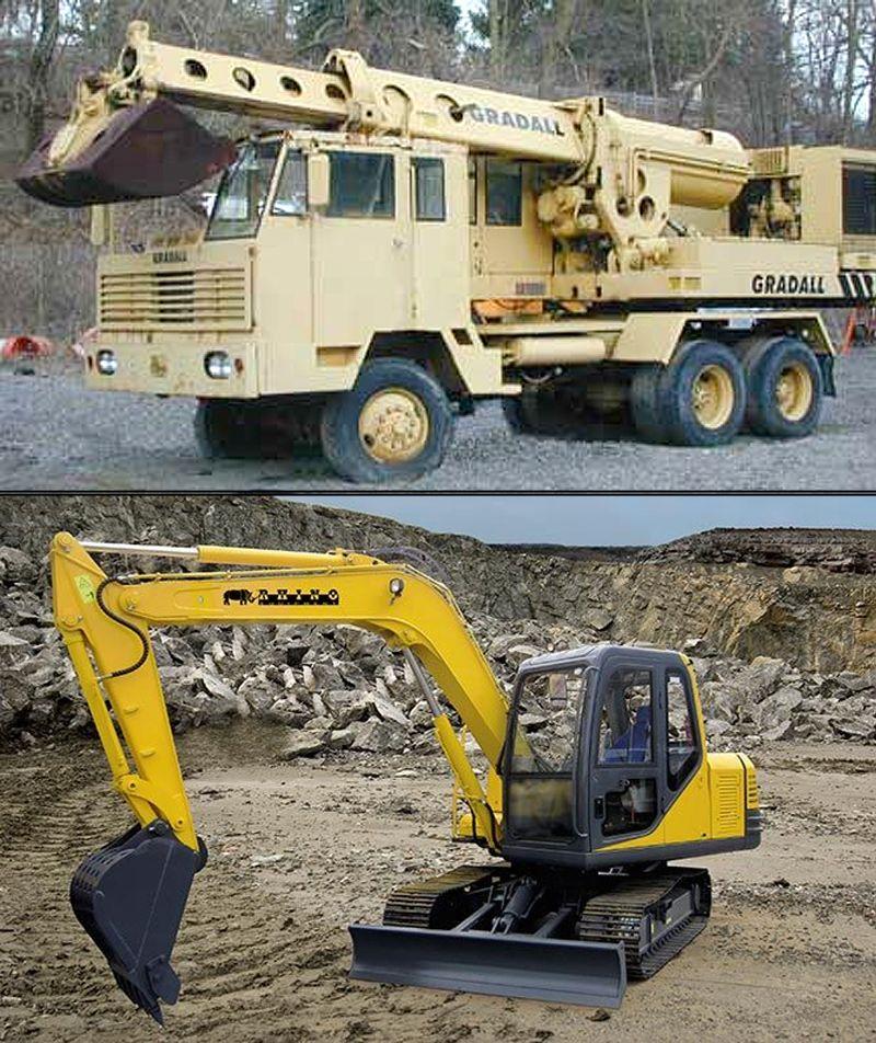 Gradalls vs Excavators